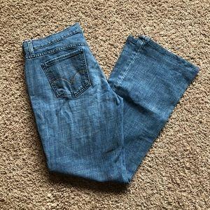LEVIS 515 Bootcut Jeans medium wash